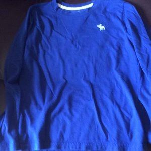 Abercrombie Kids Boys Long Sleeve Shirt 7/8